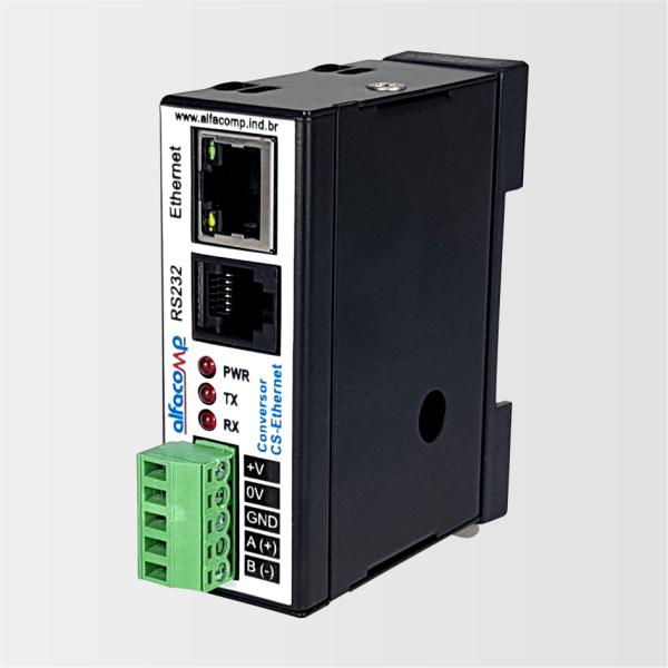 CS-Ethernet – Conversor Ethernet para serial RS232 e RS485