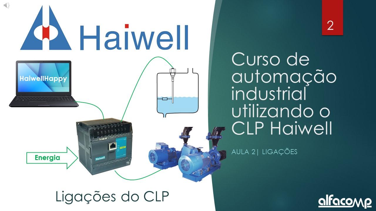Curso automação com CLP Haiwell – Aula 2
