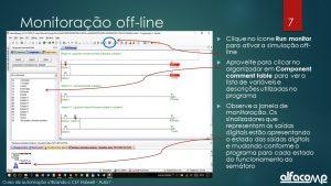 Simulação de funcionamento de CLP off-line