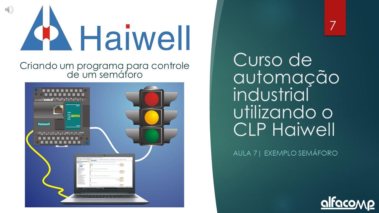 Curso de automação com CLP Haiwell – Aula 7