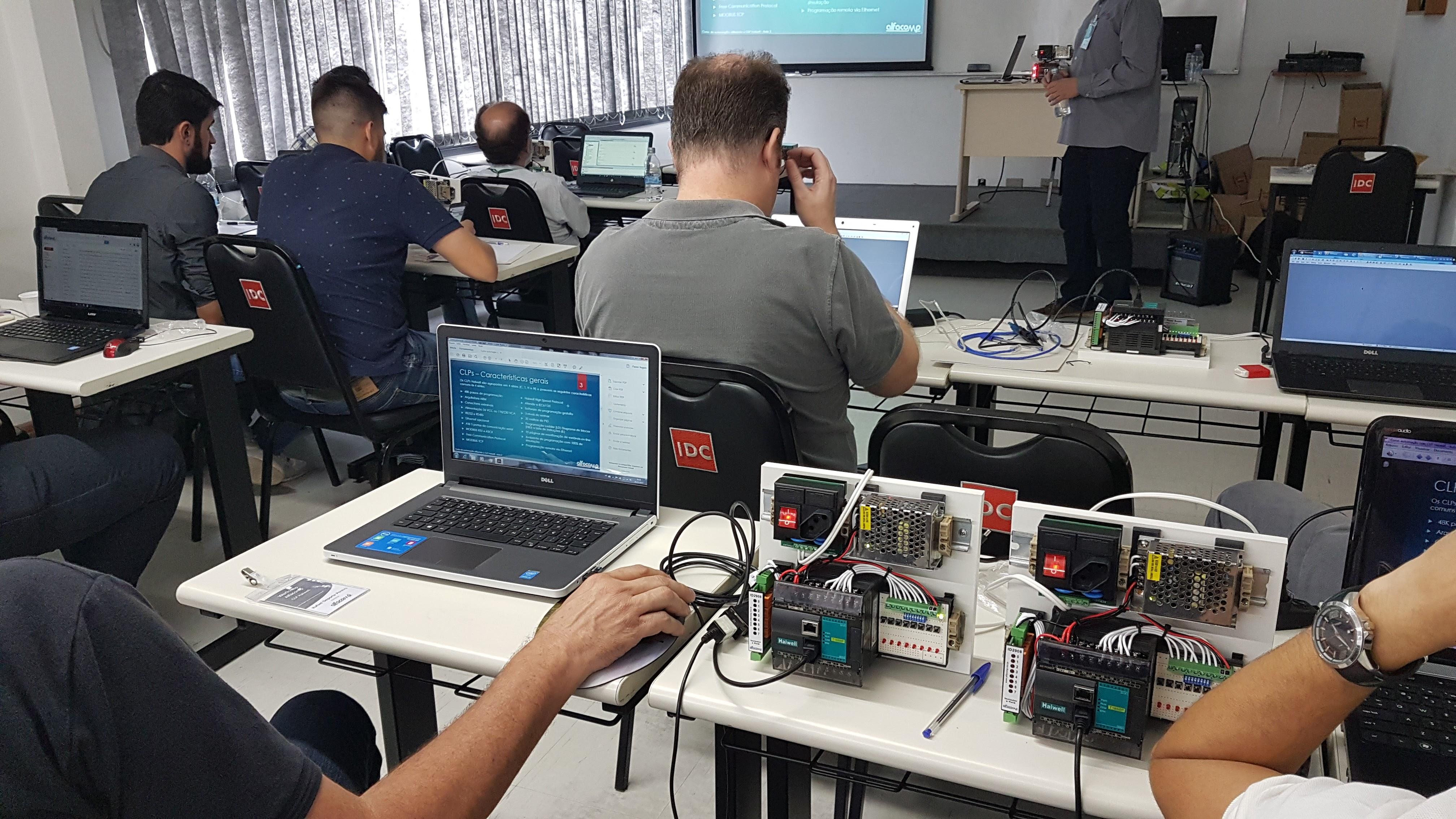 Treinamento em CLP Haiwell – Workshop gratuito