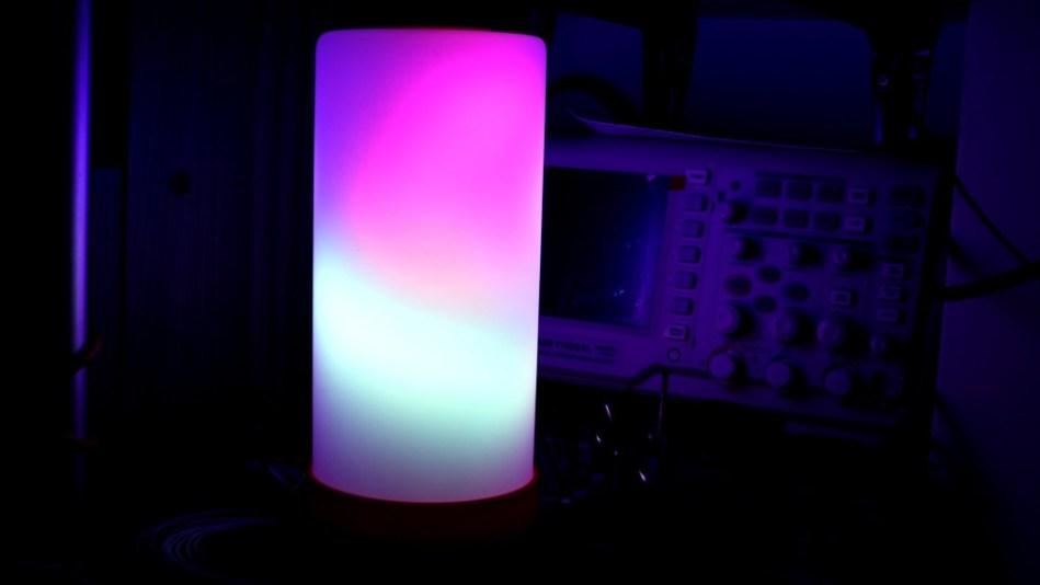 Decorative led matrix lamp