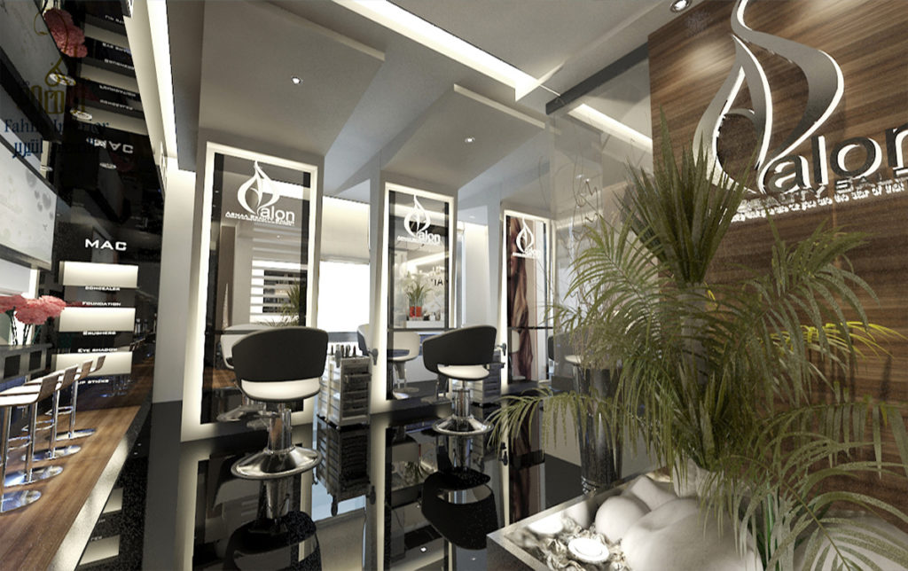 Salon Interior Design  AL FAHIM INTERIORS