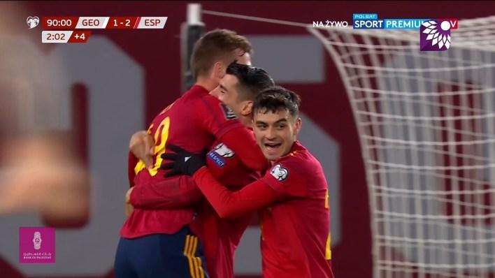 شاهد الهدف الثاني ( 2-1 ) لصالح اسبانيا في شباك جورجيا
