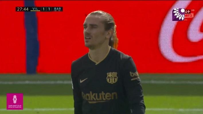 شاهد هدف التعادل (1 – 1) لصالح برشلونة في شباك فياريال