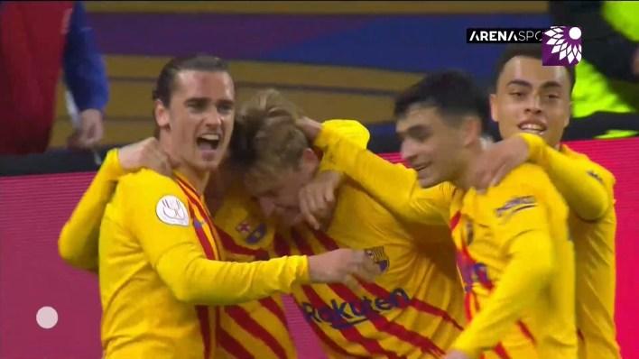 شاهد الهدف الثاني (2-0 ) لصالح برشلونة في شباك اتلتيك بلباو
