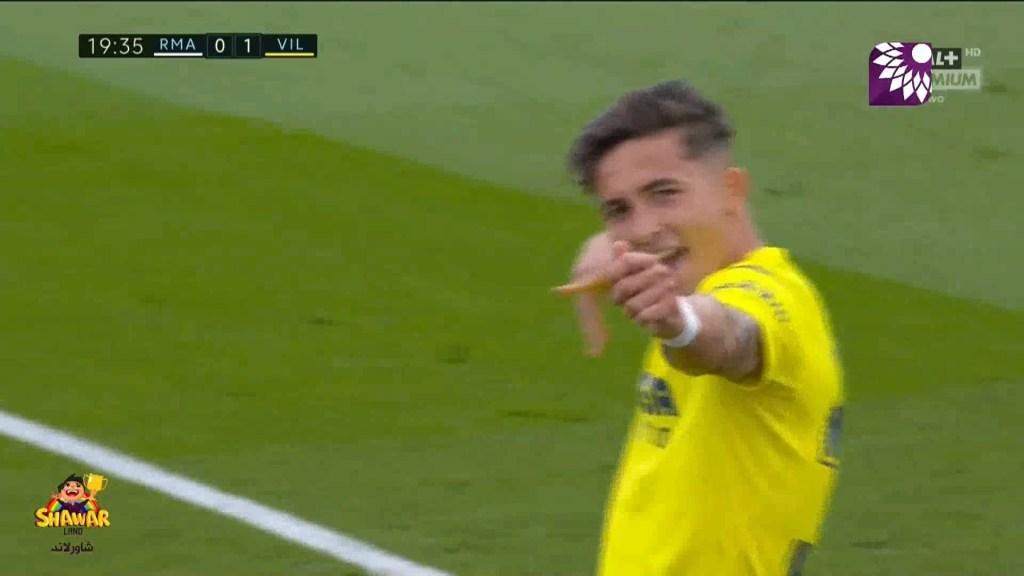 شاهد الهدف الاول (1-0 ) لصالح فياريال في شباك ريال مدريد