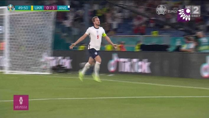 شاهد الهدف الثالث ( 3-0 ) لصالح انجلترا في شباك اوكرانيا