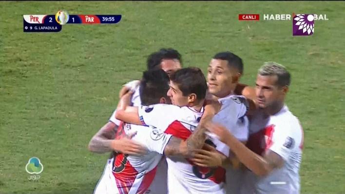 شاهد الهدف الثاني (2-1) لصالح بيرو في شباك باراغواي