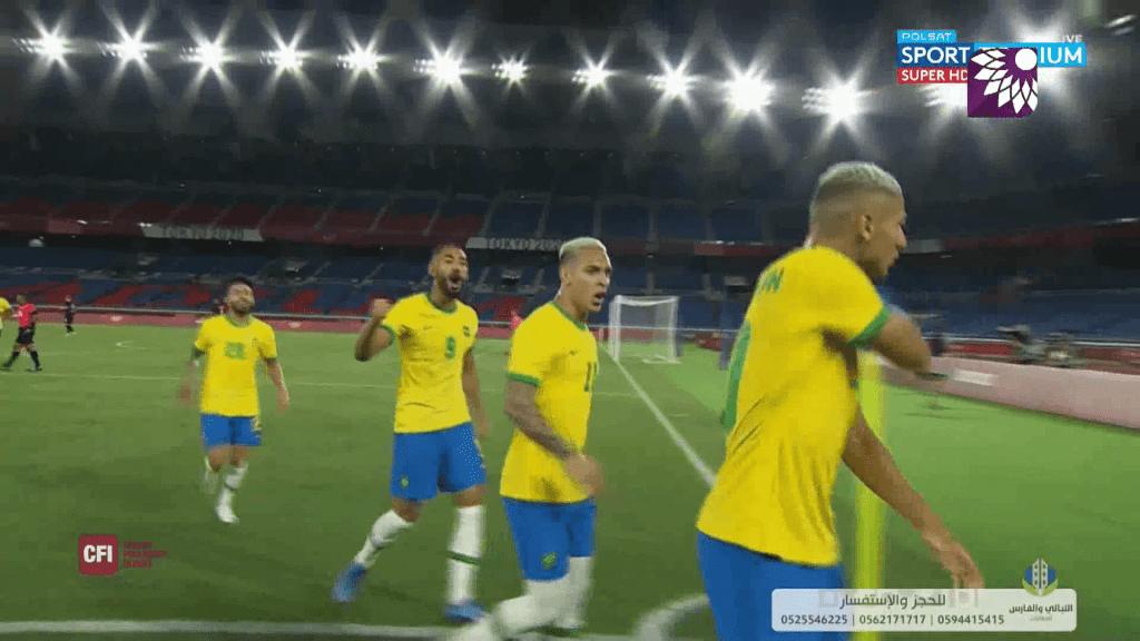 شاهد الهدف الاول (1-0) لصالح البرازيل في شباك المانيا