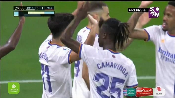 شاهد الهدف الثالث (3-1) لصالح ريال مدريد في شباك ريال مايوركا