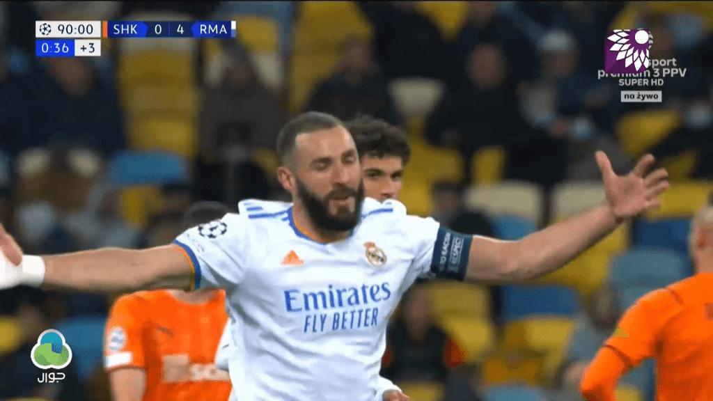 شاهد الهدف الخامس (5-0) لصالح ريال مدريد في شباك شاختار دونيتسك