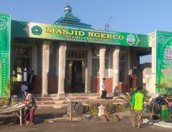 Sholat ied masjid alfalah