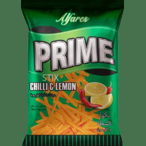 Prime Corn Stix Chilli&Lemon Flavor