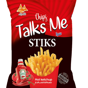 Talks Me  Sticks Hot Ketchup Flavor