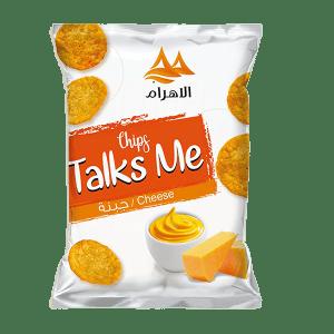Talks Me Round Tortilla Cheese Flavor