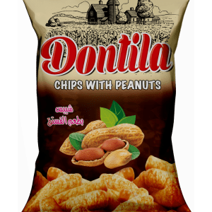 Dontila Chips With Peanuts