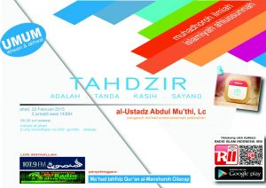 Cilacap_Tahdzir-adalah-Kasih-Sayang_03 Jumadil Ula 1436 H