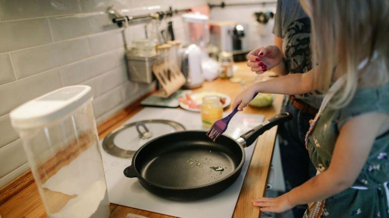 Pamiętaj, że Twoja kuchnia powinna być bezpieczna dla małych pomocników