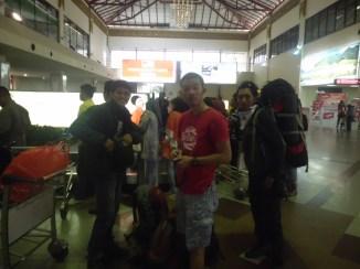 Tiba di Bandara Juanda
