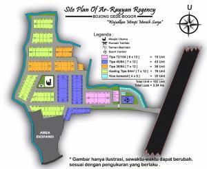 Site Plan Arrayyan regency