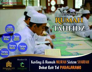 Perumahan Syariah Hasanah City Bandung