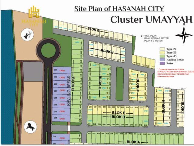 Site Plan Umayyah