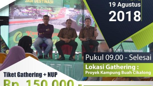 Gathering Peminat Kampung Buah Cikalong