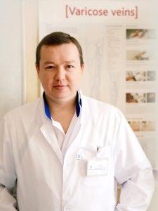 Флеболог, cосудистый хирург, ангиохирург Кузьменко Олег Владимирович