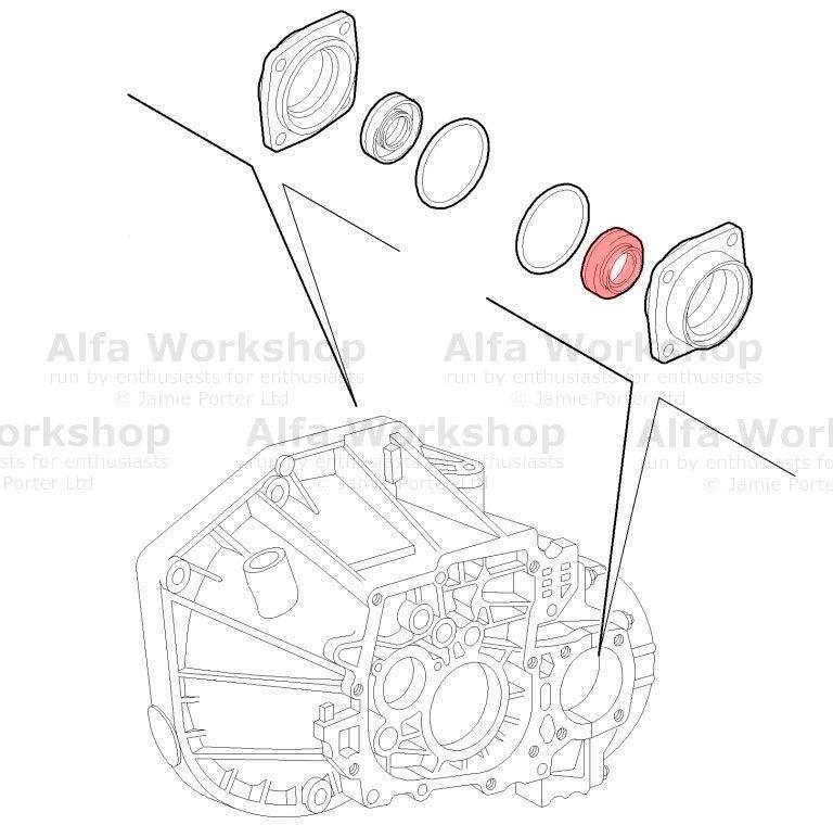Alfa Romeo 156 Differential