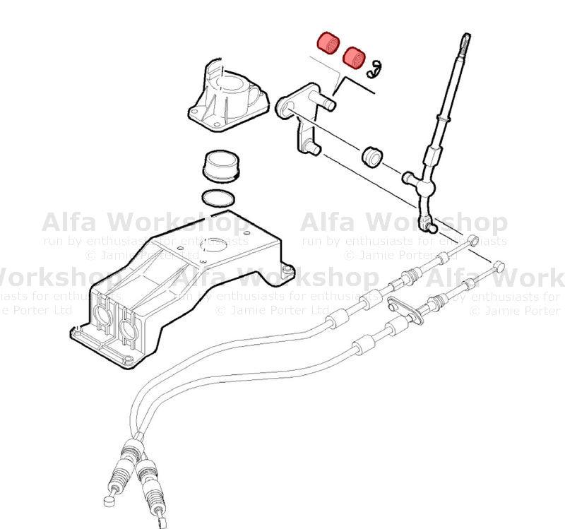 Alfa Romeo Gear lever