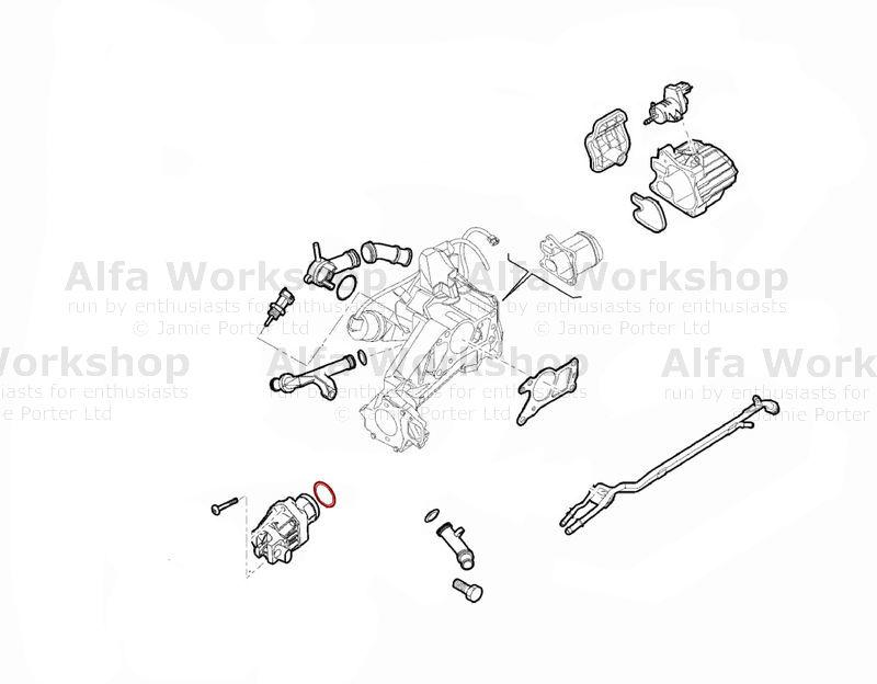 Alfa Romeo EGR valve