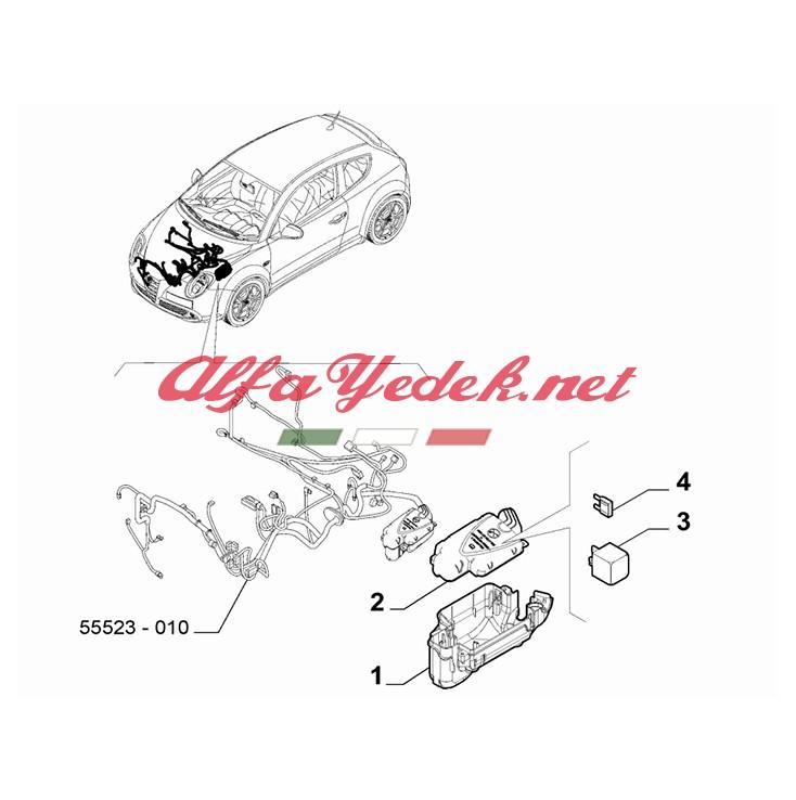 Alfa Romeo 145 Röle 50 A