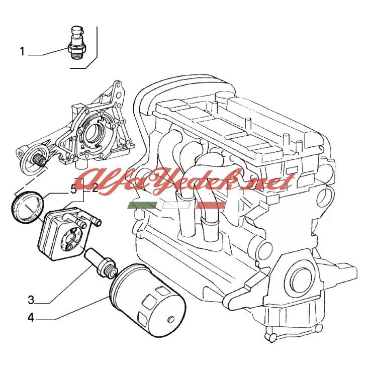 Alfa Romeo 146 Filtre Kiti