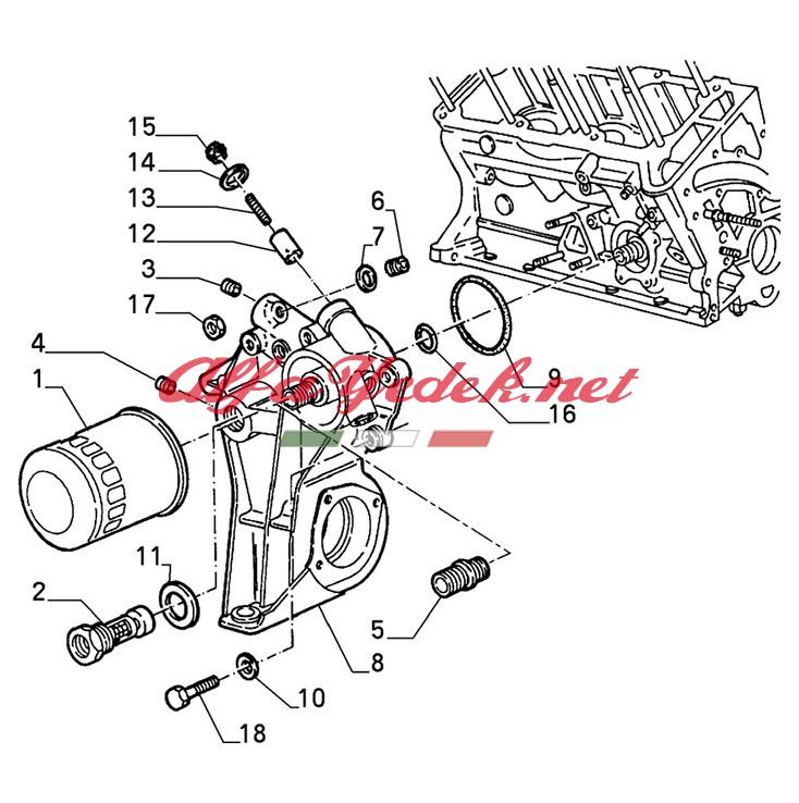 Alfa Romeo 147 Yağ Filtresi