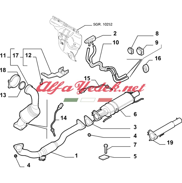 Alfa Romeo 159 Turbo Basınç Sensörü