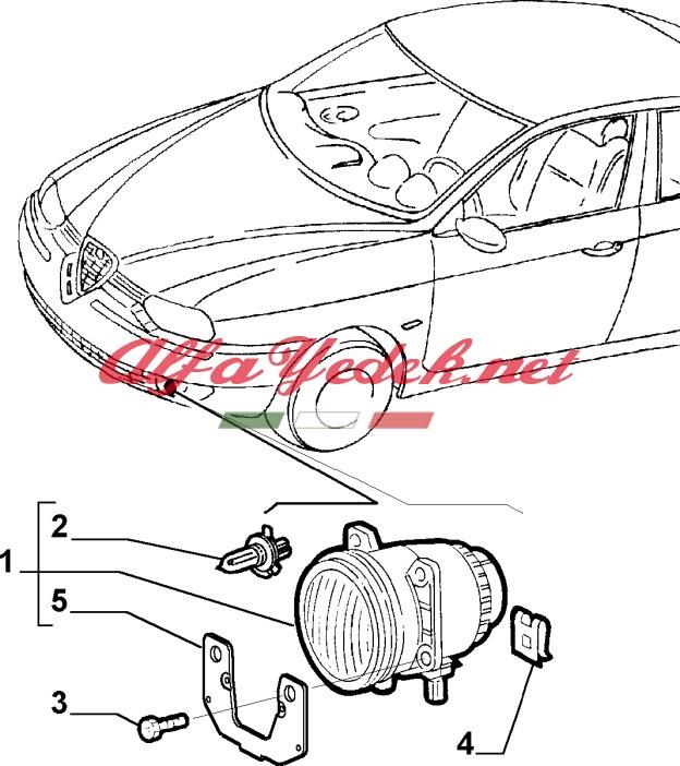 Alfa Romeo Schaltplang 156