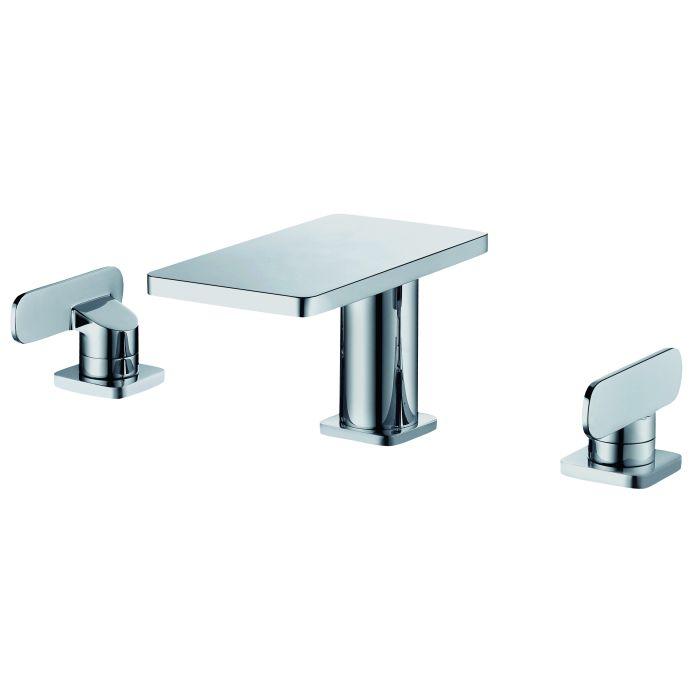 alfi brand ab1884 two handle 8 inch widespread bathroom faucet