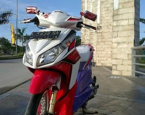 Modif Honda Vario Techno Funky Street Buat Harian Alfidocom