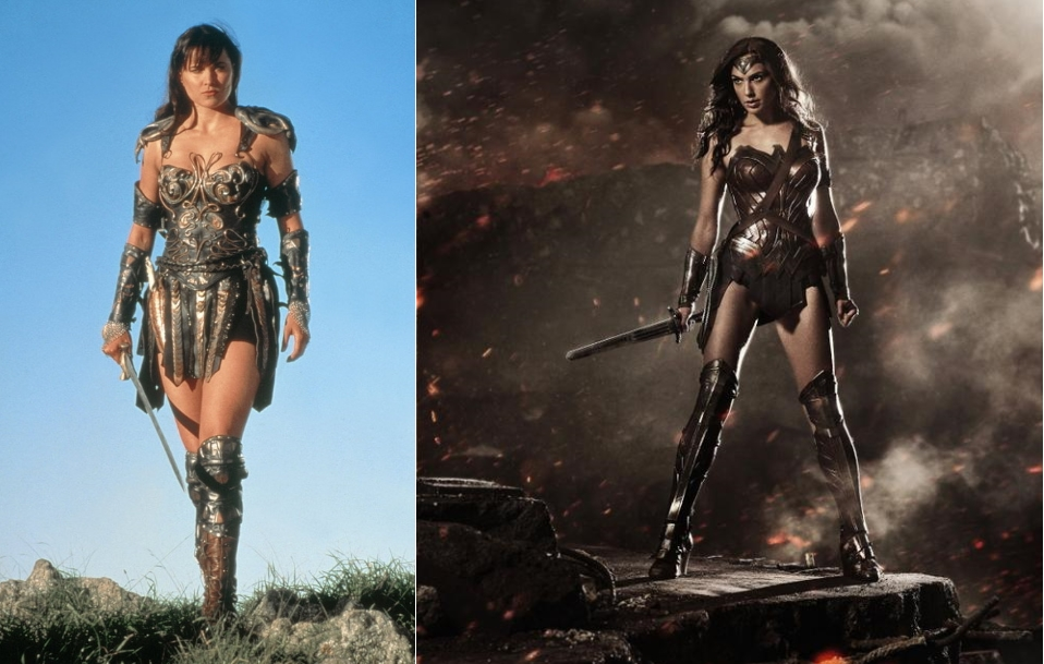 Kostum Baru Wonder Women Diolok-olok Pemeran Xena: The