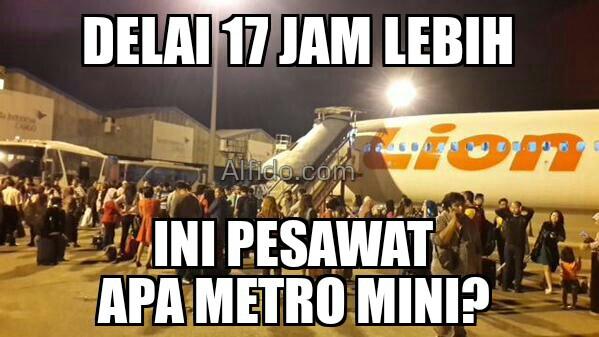 Nih 16 Gambar Meme Lucu Quot Pesawat Lion Air Delay