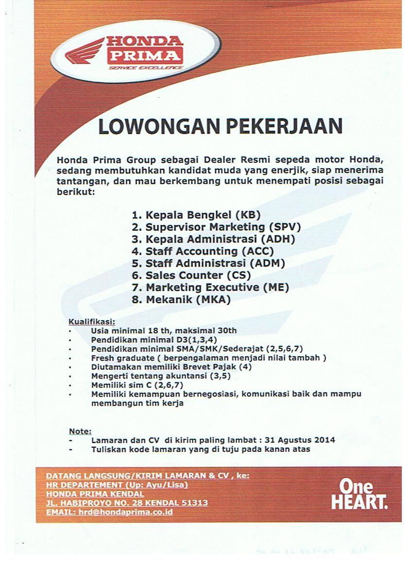 Loker Semarang Olx