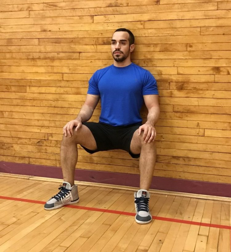 olahraga rumahan, olahraga wall sit, olahraga pagi hari, olahraga, kebugaran, latihan, sehat