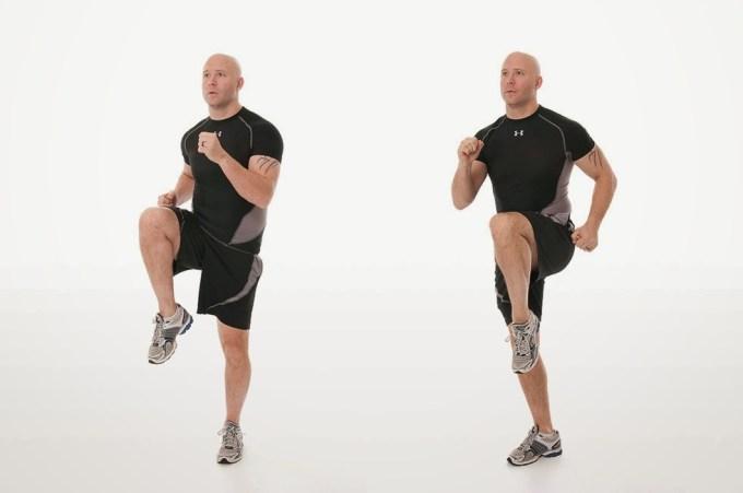 kebugaran, olahraga, sehat, latihan, olahraga lari di tempat