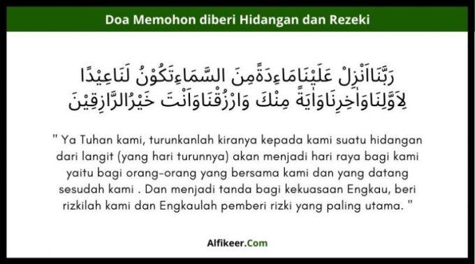 doa nabi isa
