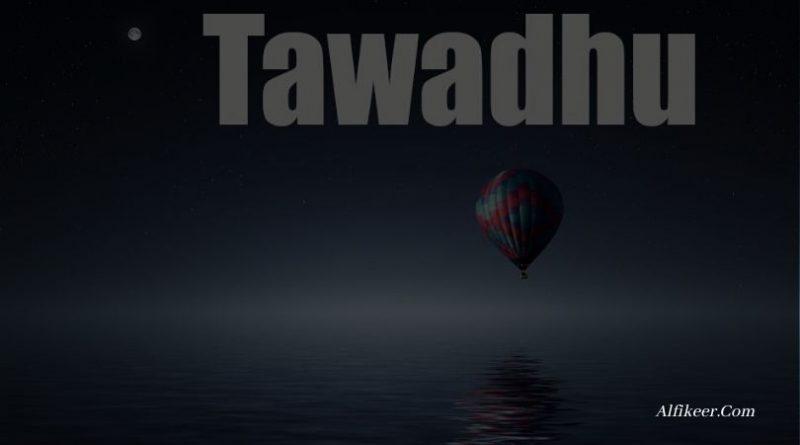 arti tawadhu