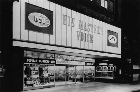 hmv store old