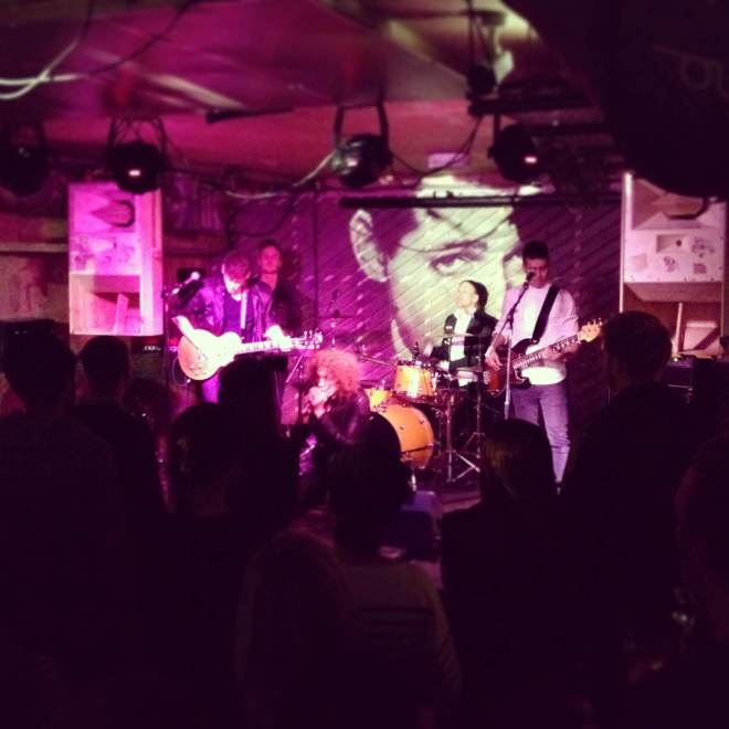everywhere band notting hill arts club live london november 2013