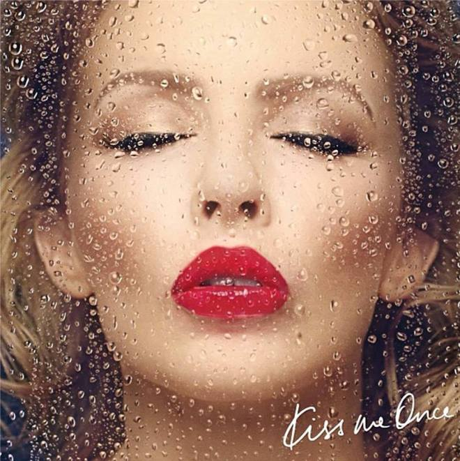 kylie kiss me once album cover