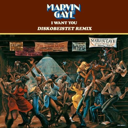 Marvin Gaye - I Want You (Diskobeistet Remix)